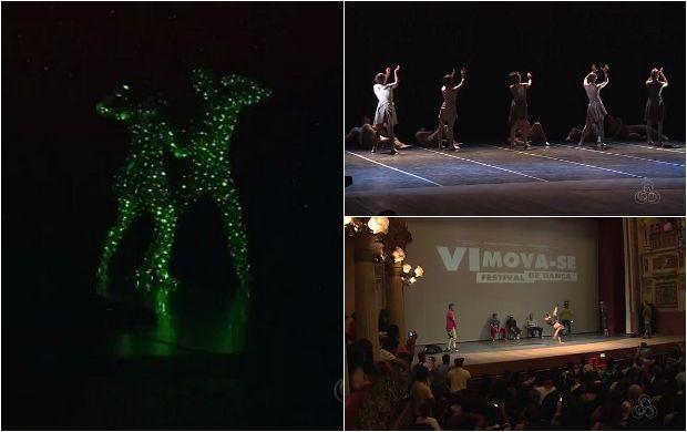 'Mova-se' lota Teatro Amazonas no domingo em Manaus (Foto: Amazonas TV)