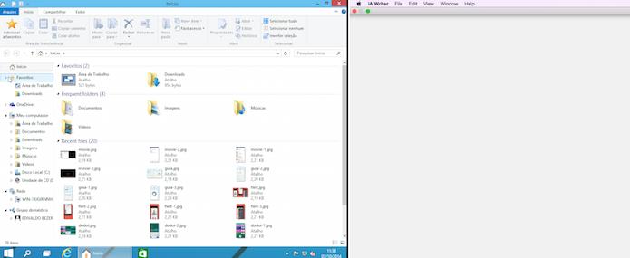 Maximizar do OS X agora está praticamente igual ao do Windows (Foto: Reprodução/Edivaldo Brito)