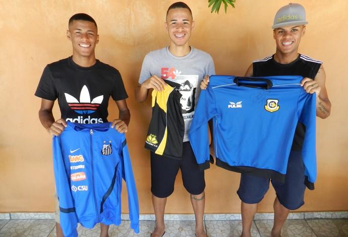 Irmãos de Uberlândia miram clubes de tradição e se destacam no futebol nacional (Foto: Caroline Aleixo)