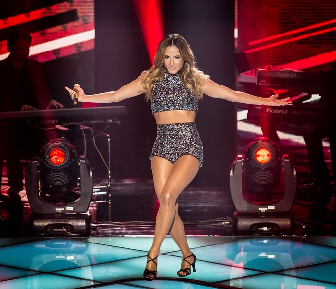 Claudia Leitte no The Voice Brasil (Foto: Claudia Leitte, The Voice Brasil)