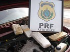PRF apreende 3,7 kg de crack em carro guinchado no Norte do RS