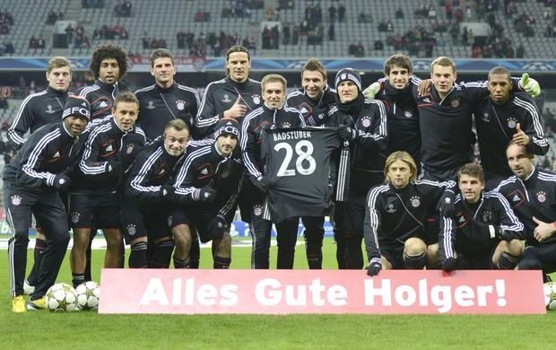 Bayern de Munique homenagem, Bayern de Munique contra o BATE Borisov (Foto: Agência AFP)