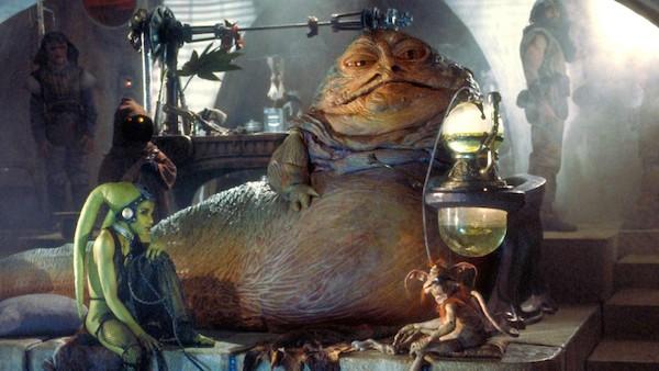 O personagem Jabba da série 'Star Wars' (Foto: Reprodução)