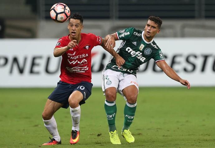 Thomaz Santos Jorge Wilstermann (Foto: César Greco / Ag. Palmeiras / Divulgação)