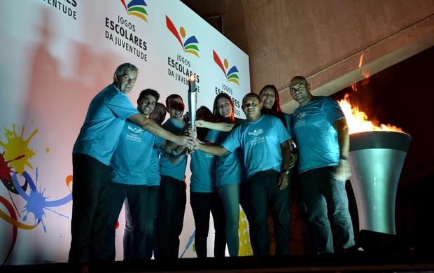 Edição 2013 dos Jogos Escolares da Juventude é aberta em Natal