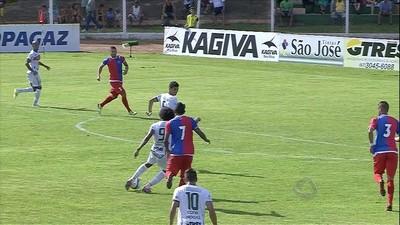 Thales é um dos artilheiros do Campeonato Sul-Mato-Grossense com 4 gols (Foto: Reprodução/TV Morena)