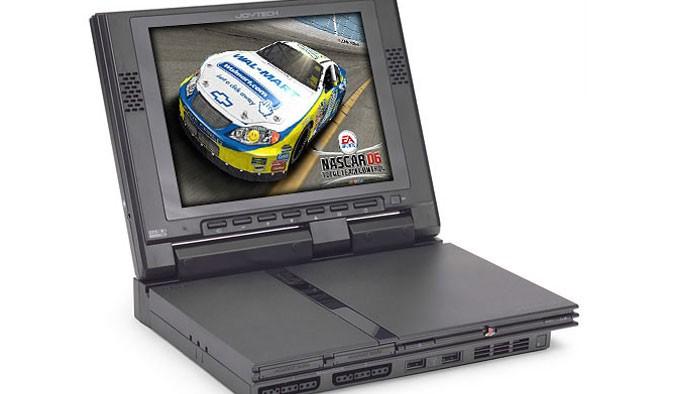 Tela de LCD do PS2 (Foto: Divulgação)