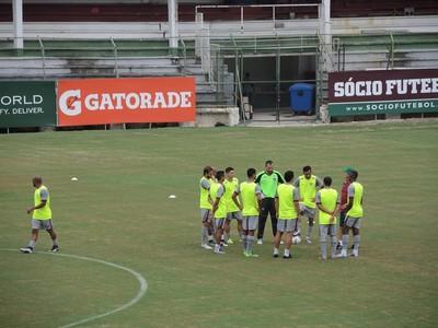 Fluminense - treino (Foto: Hector Werlang)