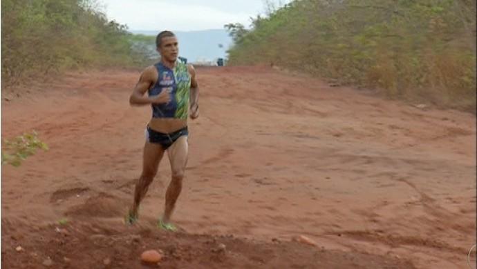 Cross triathlon Palmas (Foto: Reprodução/TV Anhanguera)