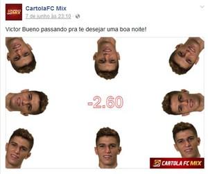 Meme Vitor Bueno Rodada #5 (Foto: Reprodução)