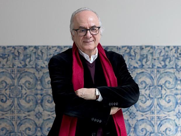 O cientista social Boaventura Sousa Santos, homenageado da Bienal do Livro de Brasília (Foto: Gustavo Lopes Pereira/Divulgação)