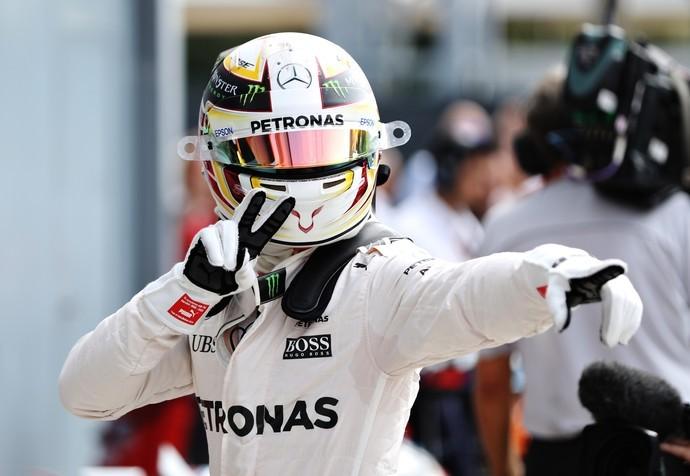 Lewis Hamilton é pole no GP da Itália