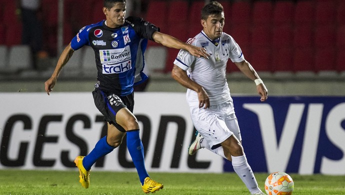 Arrascaeta, gol Cruzeiro x Mineros (Foto: EFE)