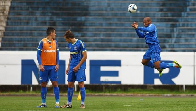 Fellipe Bastos Grêmio treino  (Foto: Lucas Uebel/Grêmio)