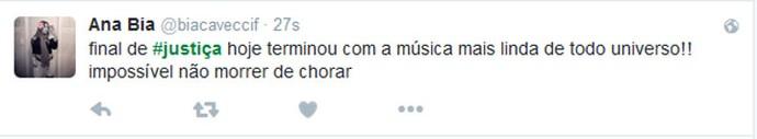 Ana Bia amou o final de Fátima (Foto: TV Globo)