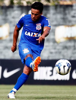 Treino Jadson Corinthians  (Foto: Marcos Ribolli)