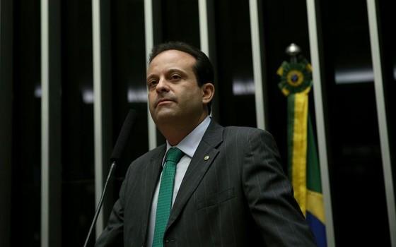 O líder do governo na Câmara dos Deputados, André Moura (Foto: Wilson Dias/Agência Brasil)