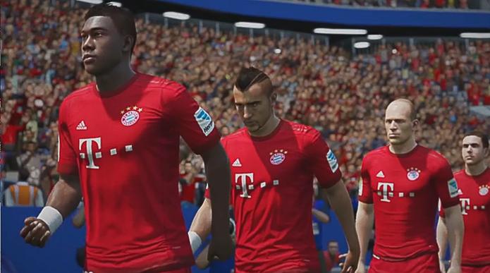 Bayern de Munique Fifa 16 (Foto  Reprodução YouTube) e4b10bcb695b4