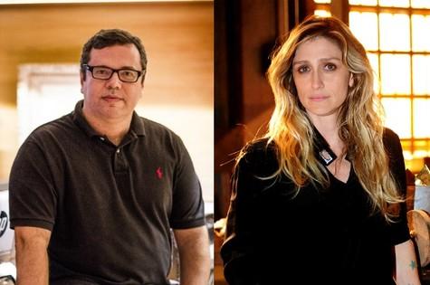 João Emanuel Carneiro e Amora Mautner (Foto: Divulgação)