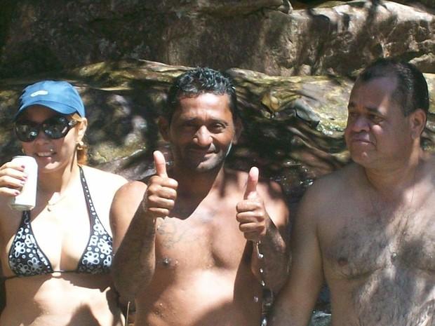 Foto tirada em momento de descontração na Serra do Tepequém, em Roraima (Foto: Arquivo pessoal)