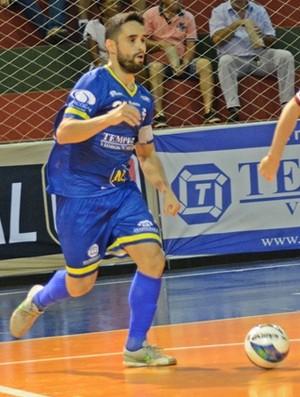 Leandrinho, futsal de Dracena (Foto: Tamiris Dinamarco / Express Sports)