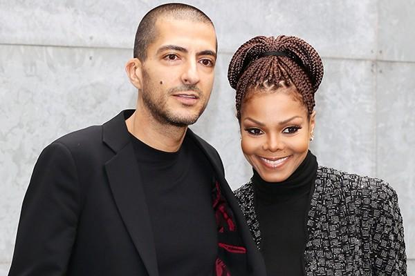 Janet Jackson e Wissam Al Mana (Foto: Getty Images)