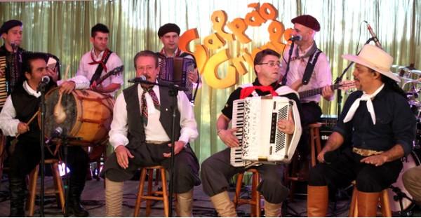 Festa Nacional da Música (Foto: Verônica De Giacomo/RBSTV)