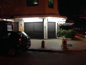 Padaria localizada em Ipanema, entre a Rua Farme de Amoedo e Nascimento Silva, foi fechada     (Foto: Márcia Saad/Tv Globo )