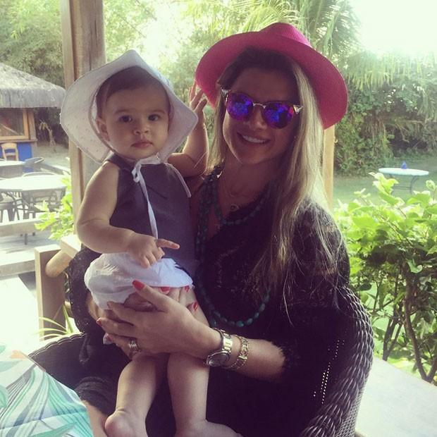 Mirella Santos Se Declara à Filha Valentina Que Completa 1 Ano Hoje