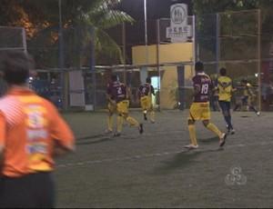 Desafio de Futebol Society movimenta atletas em Porto Velho, RO (Foto: Reprodução/Tv Rondônia)