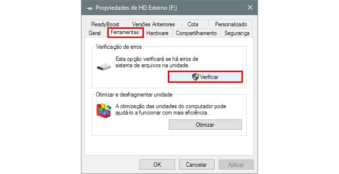 Busque por erros no Windows (Foto: Reprodução/Paulo Alves)