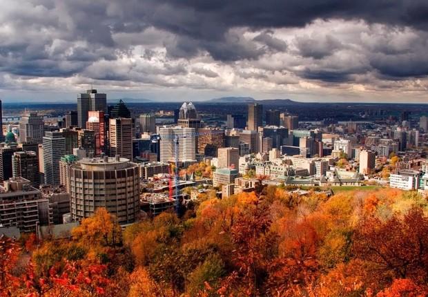 Cidade de Montréal, no Canadá (Foto: Divulgação)