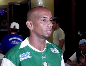 Volante Tércio acredita em título inédito (Foto: Jocaff Souza/GLOBOESPORTE.COM)