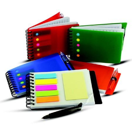 Cadernos e blocos são alguns dos produtos da empresa (Foto: Divulgação)