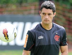Marcos Gonzales treino Flamengo (Foto: Fabio Borges / VIPCOMM)