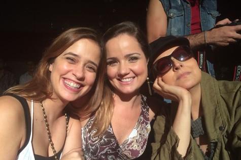 Paloma Duarte, Tatyane Goulart e Betty Lago  (Foto: Divulgação)