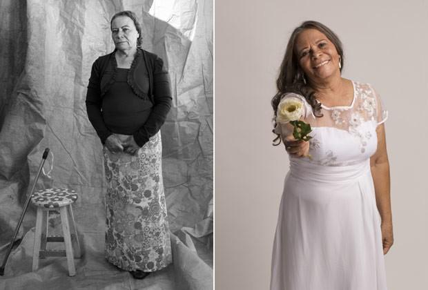 """A aposentada Lauriete Martins: """"Ficar muda não era da minha personalidade. Voltei a falar"""" (Foto: Fernanda Rodrigues e Paola Vianna)"""