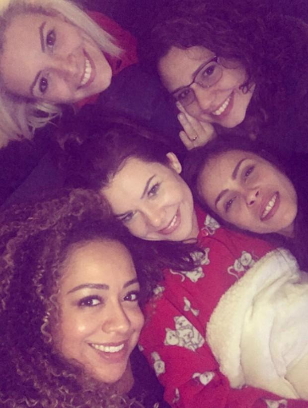 Renata Del Bianco, Francis Helena, Aretha Oliveira, Fernanda Souza e Gisele Frade (Foto: Reprodução/Instagram)