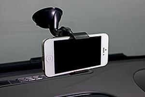 Suporte de celular com presilha (Foto: Autoesporte)