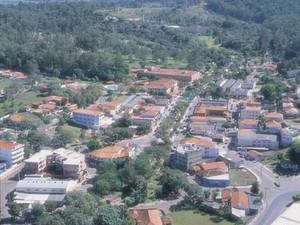 Imagem área de Águas de São Pedro (Foto: Divulgação/Prefeitura)