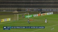 XV de Piracicaba vence a Inter de Limeira por 2 a o pela Copa Paulista