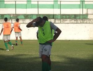 Murici completa uma semana de treino (Foto: Leonardo Freire/Globoesporte.com)