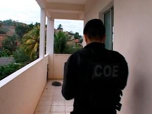 Operação no Bairro da Paz, Salvador (Foto: Reprodução/ Imagens da PM)