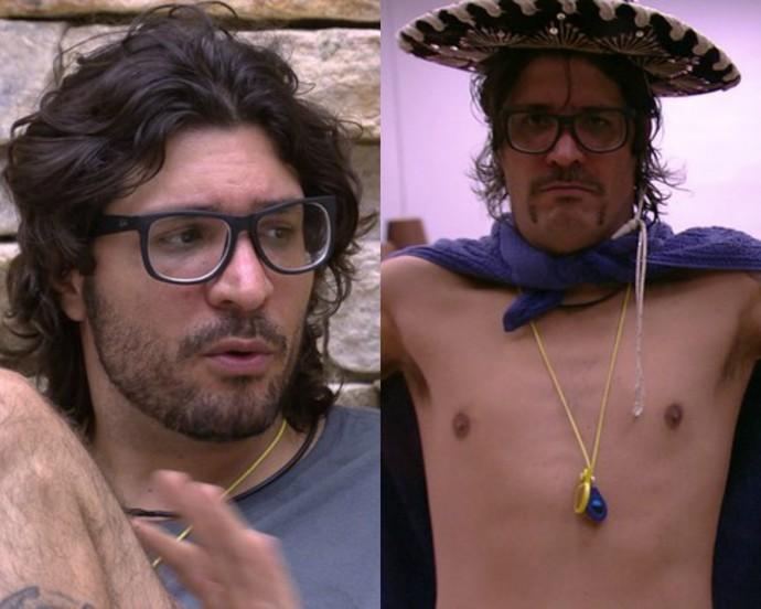 Ilmar mudou o visual da barba depois de ir para o Lado Mexicano (Foto: TV Globo)