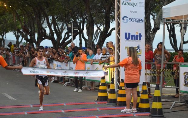 Marcos Antônio venceu com facilidade entre os homens (Foto: Thiago Barbosa)