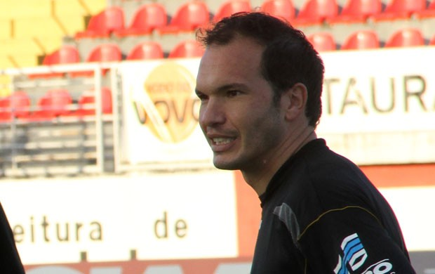 Jonatas, goleiro do Boa Esporte (Foto: Tiago Campos)