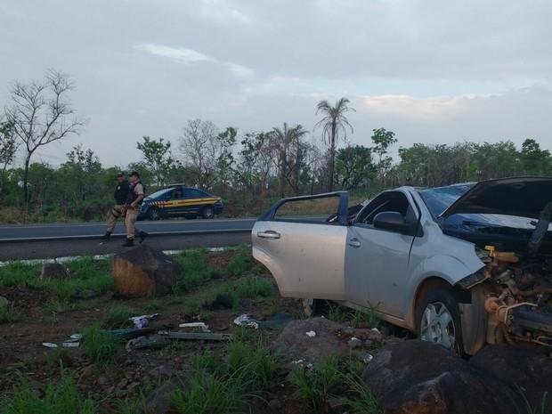 Jovem de 23 anos morreu no acidente (Foto: Divulgação/PRF-TO)