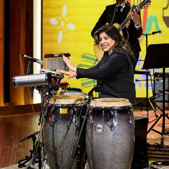 O programa termina com uma apresentação da cantora (Foto: Divulgação/ Rede Globo)