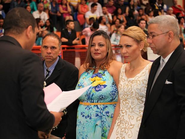 Casamento comunitário em Limeira (Foto: Rodolpho Rodolpho/Acervo pessoal)
