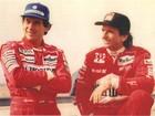 Profecia, amizade e Indy: Emerson lembra histórias com Senna (Arquivo Pessoal)